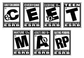Game ratings image