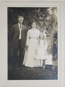 My grandmother and her parents